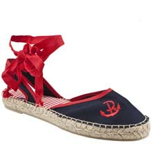 vegan flat nautical espadrilles