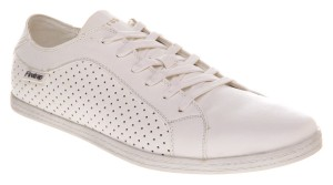 white vegan trainers