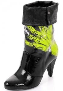 Vegan zombie boots