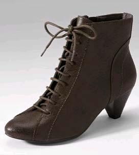 Cheap vegan steampunk victorian boots
