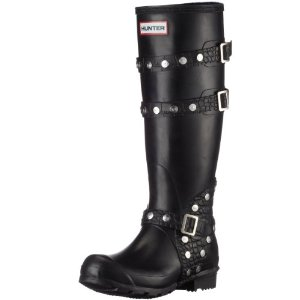 Vegan biker wellies