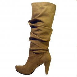 Tan vegan boots