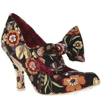 Vegan flower heels