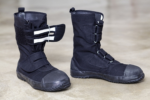 Japanese vegan unisex boots