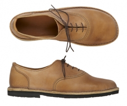 Vegan men's lace up earthy shoes
