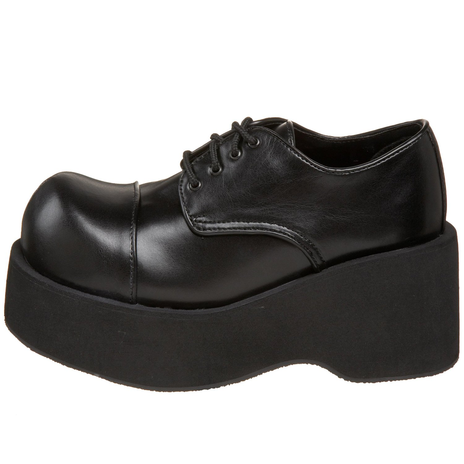 Big vegan lace up platform shoes