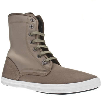 Vegan men's high top plimsoles