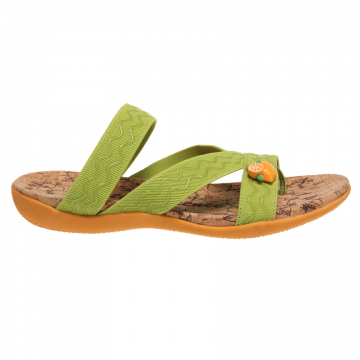 Cute and fruity vegan sandals