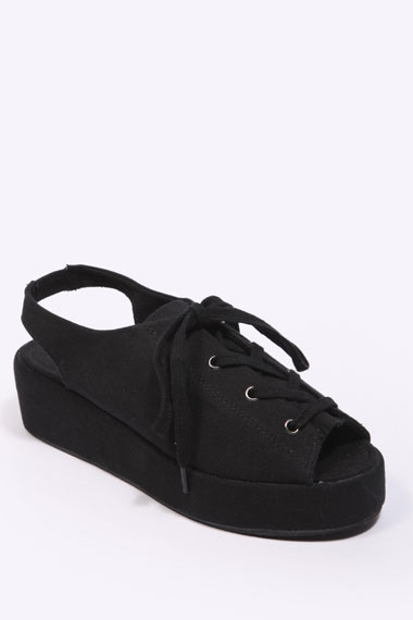 Vegan sling back shoes