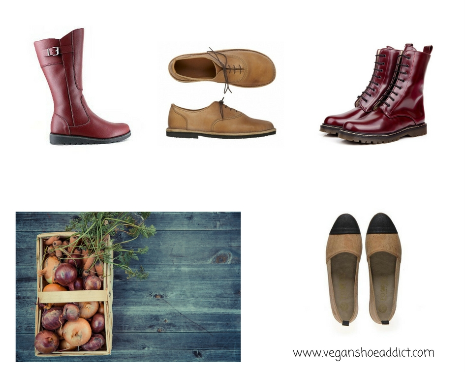 4 Earth-toned, Earth-kind, Vegan Shoes and Boots for the Urban Countryside