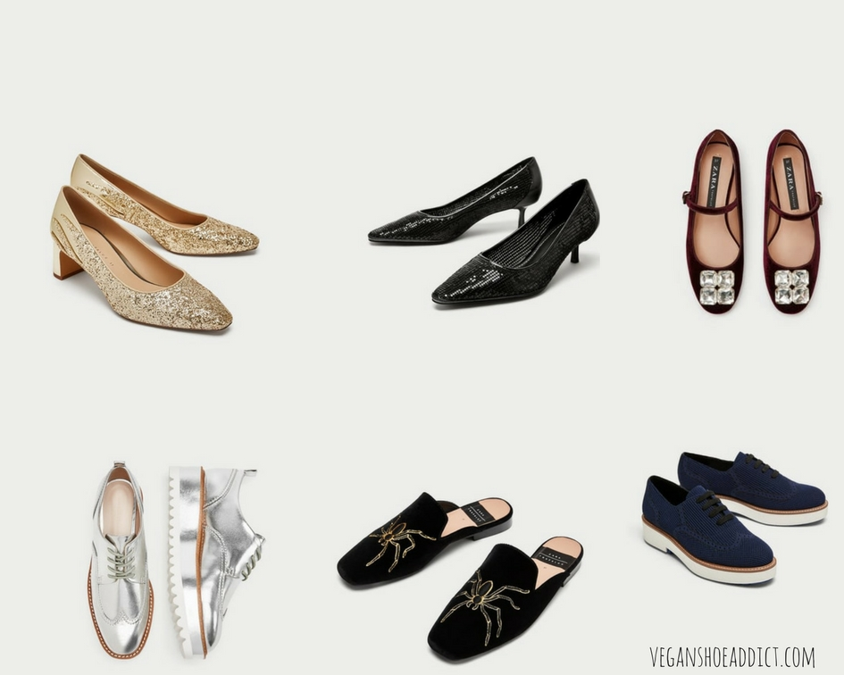 Zara Vegan Shoes on Sale Right Now