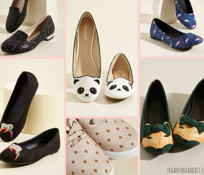 Fun Vegan Statement Flats in the Modcloth Sale