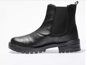 Chunky vegan chelsea boots