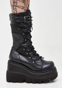 Demonia vegan boots