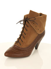Vegan Victorian ankle boots #2