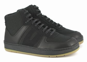 Vegan men's chunky hemp trainers