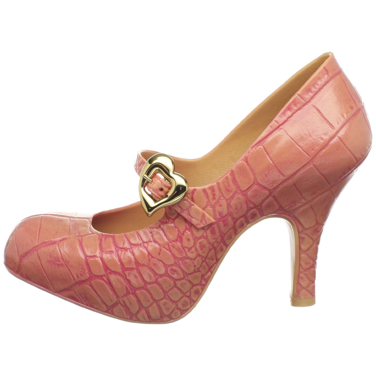 Beautiful vegan Vivienne Westwood mock croc heels