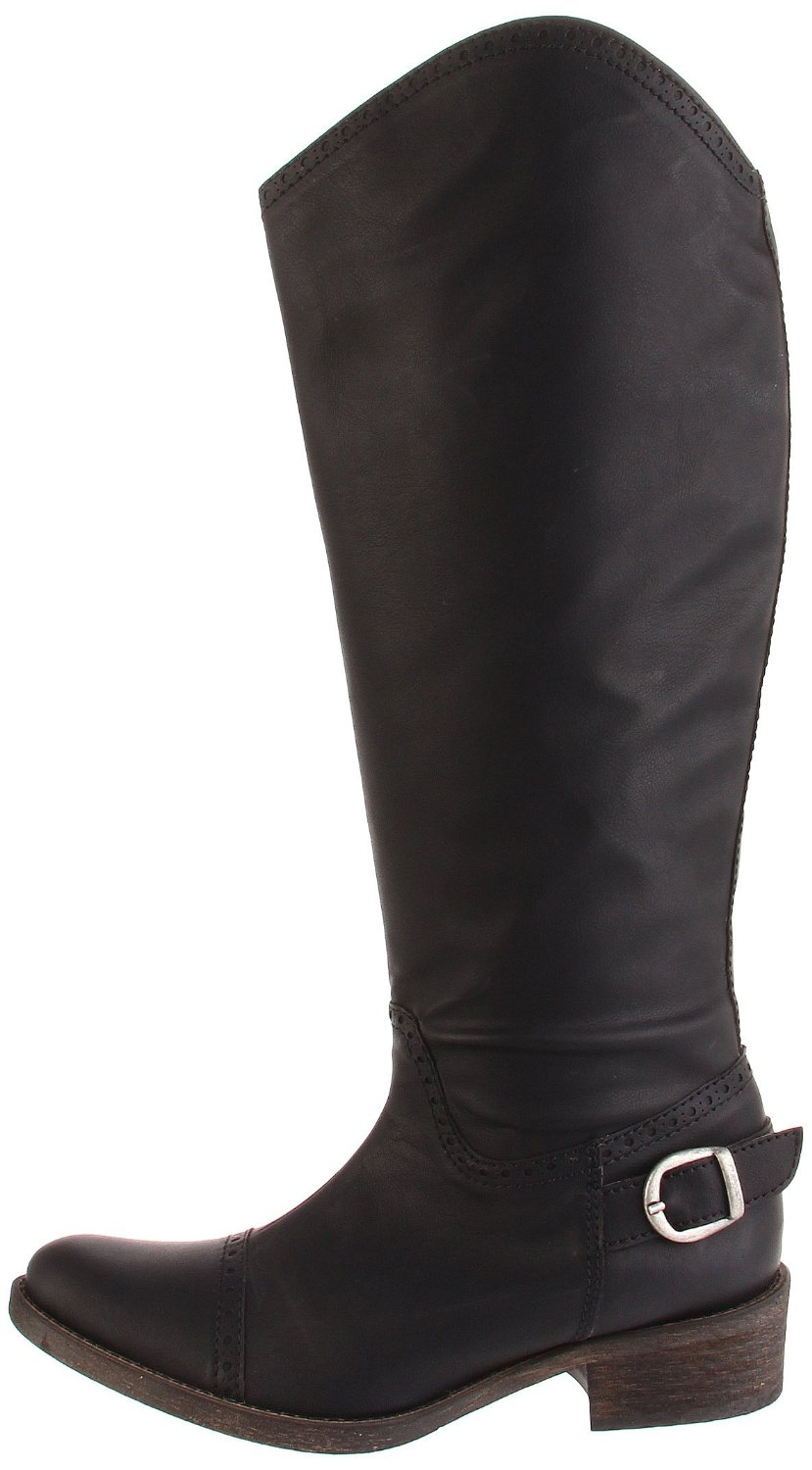 Hot vegan cowgirl-ish knee nigh boots