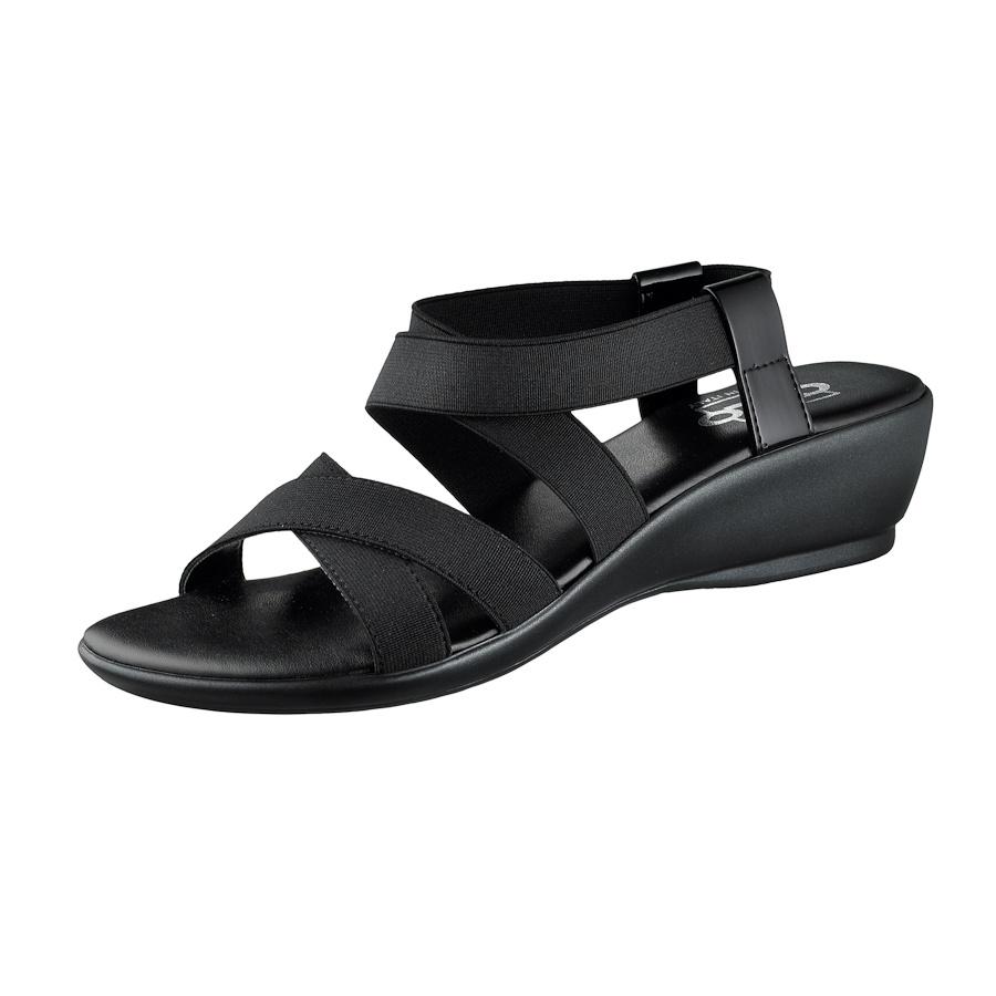 Cute and functional elastic vegan sandals