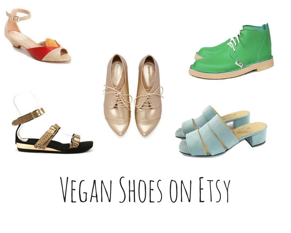 Vegan Shoes on Etsy